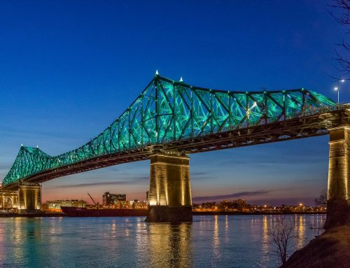 Jacques-Cartier Bridge in Montreal, AZ Award 2018