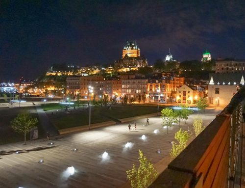 Square of the Canotiers in Quebec-City, National Urban Design Awards 2018