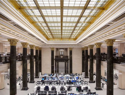National Bank Trading Room in Montreal, Illumination Award IES-Monteal 2017
